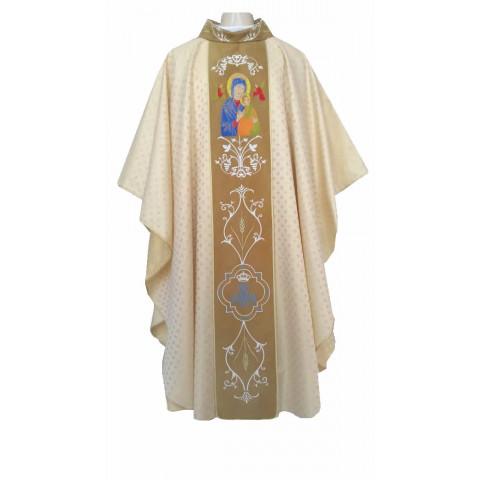 Casula Dourada de Nossa Senhora do Perpétuo Socorro. CÓD: CAS-753