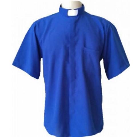 Camisa Clerical Manga Curta.          CÓD: CAC-029