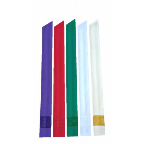 Mini Estola para Confissão nas cores Branca, Creme, Verde, Roxa e Vermelha . CÓD: EST-237