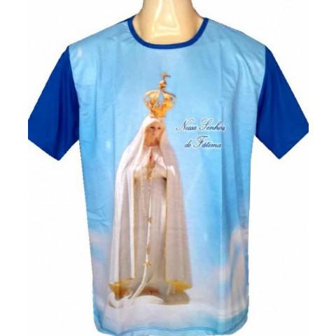 Camisa de Nossa Senhora de Fátima. CÓD: CMS-058