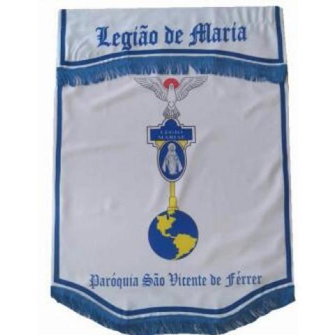 Standart Legião de Maria. CÓD: BAND-003