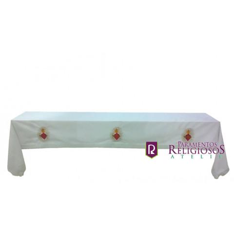 Toalha de Altar Bordada  CÓD: CMA-014