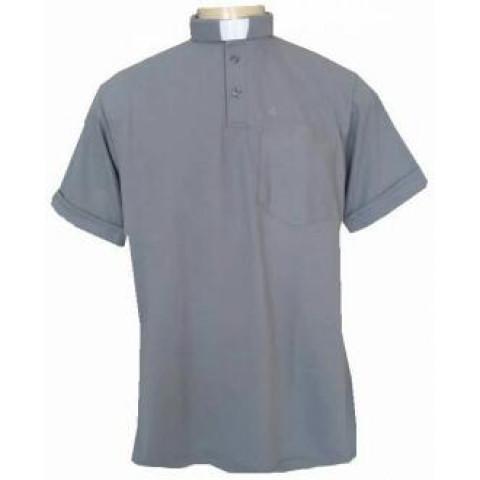 Camisa Clerical Sport Manga Curta. CÓD: CAC-025