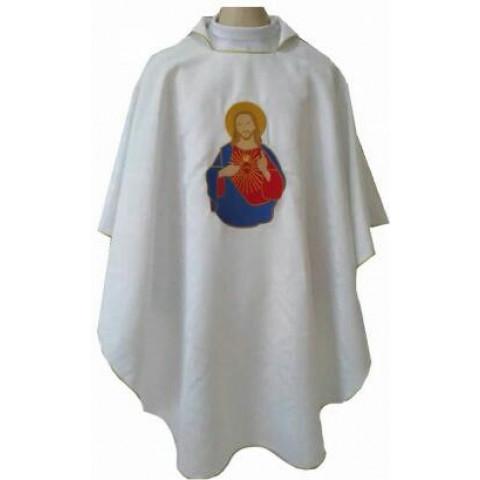 Casula Sagrado Coração de Jesus. CÓD: CAS-R-002