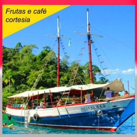 PASSEIO DE ESCUNA REI FELIPE - Frutas e café de cortesia