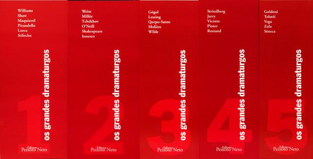 Coleção completa Os Grandes Dramaturgos