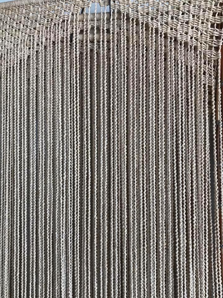 Cortina de palha 0.80 x 2.00 altura
