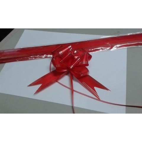 Laço facil 3 cm pacote com 10 unidades (vermelho, branco e azul roial)