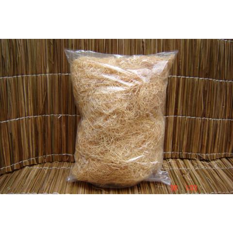 Palha de madeira natural pacote com 1kg