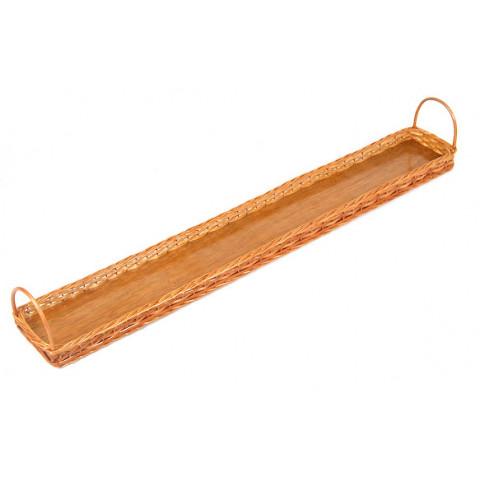 Bandeja para sanduíche de pão de metro 1.00x12x3 altura