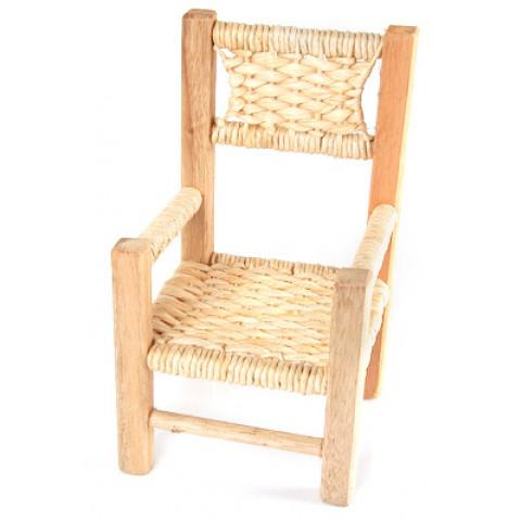 Cadeira de Palha Mini com ou sem Braços