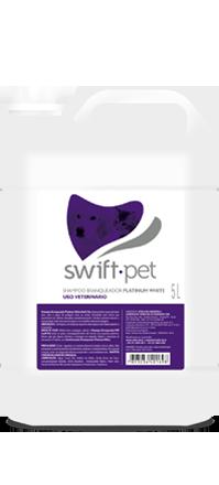 SHAMPOO BRANQUEADOR PLATINUM WHITE SWIFT 5 L
