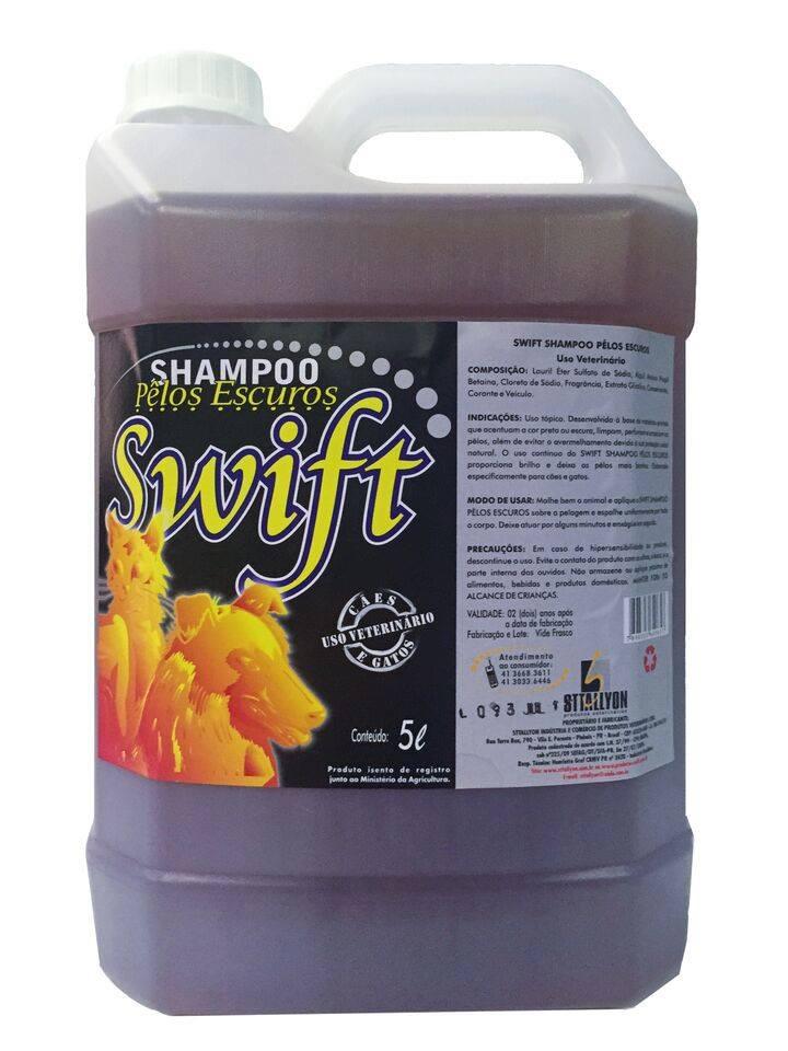 SHAMPOO PELOS ESCUROS SWIFT 5 L