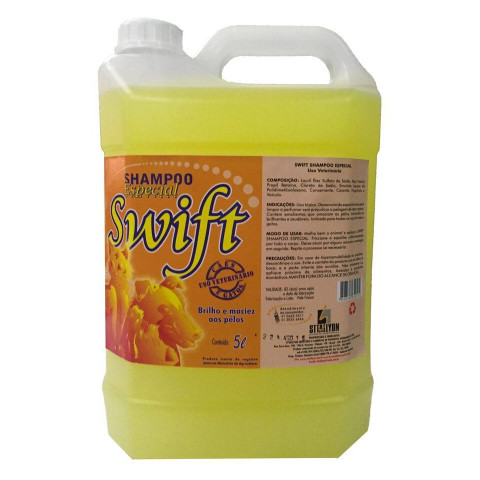 SHAMPOO ESPECIAL SWIFT 5L