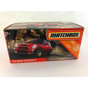 MATCHBOX 2020 ´03 MINI COOPER S RED MBX CITY NEU /& OVP