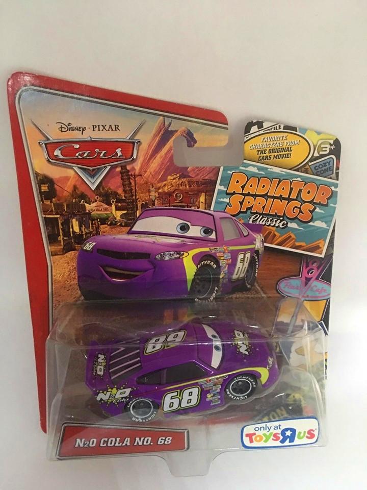 Disney Cars - N2o Cola No. 68 Roxo - Radiator Springs Classic