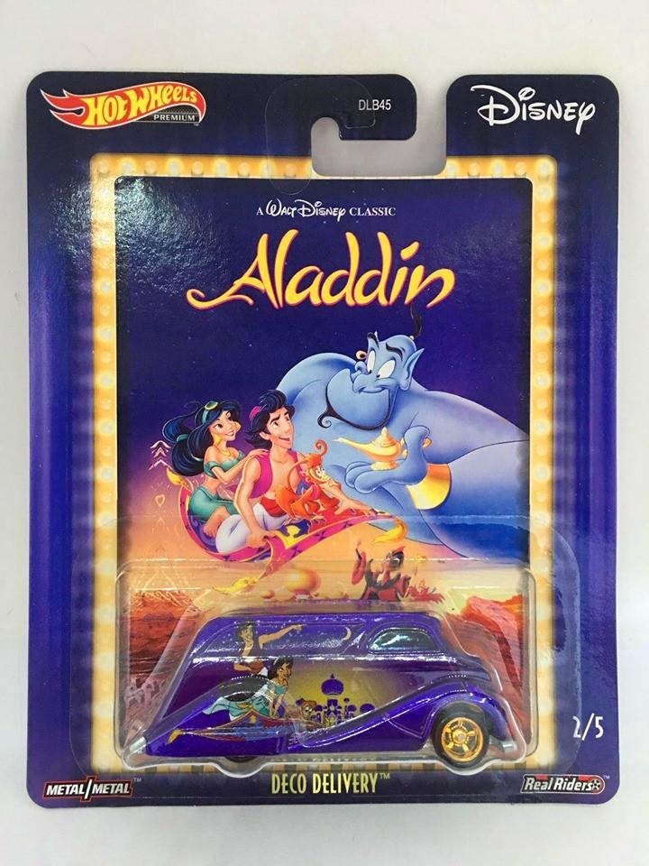 Hot Wheels - Deco Delivery Roxo - Aladdin - Disney 2020