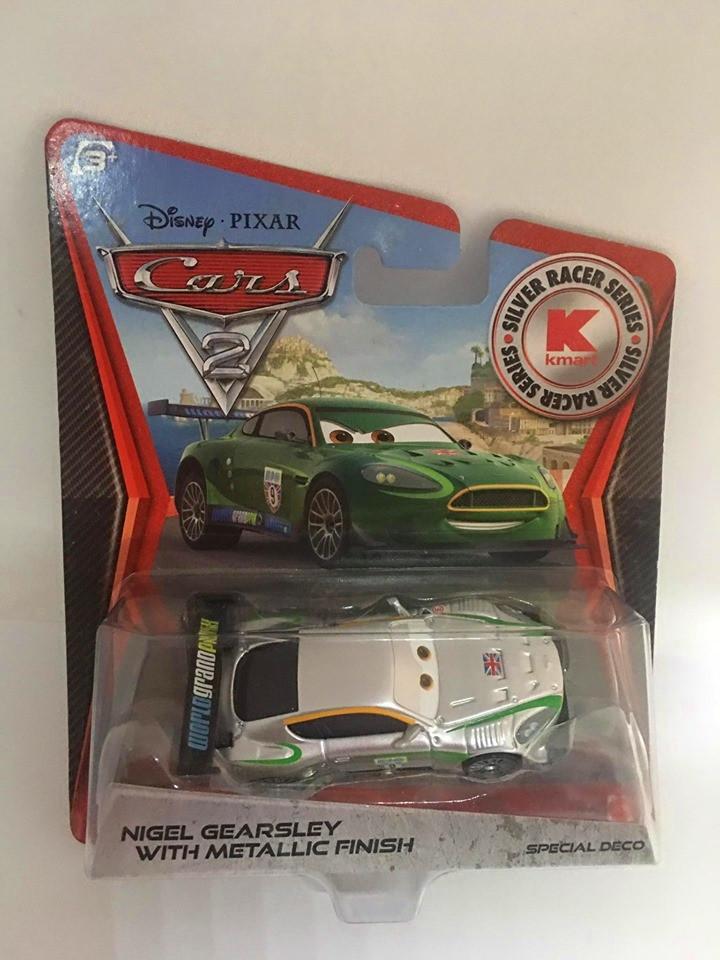 Disney Cars - Nigel Gearsley With Metallic Finish - KMart Exclusivo - Cars 2