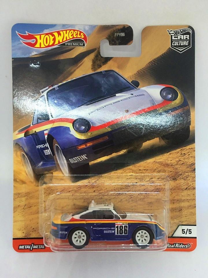 Hot Wheels - Porsche 959 (1986) - Wild Terrain - Car Culture