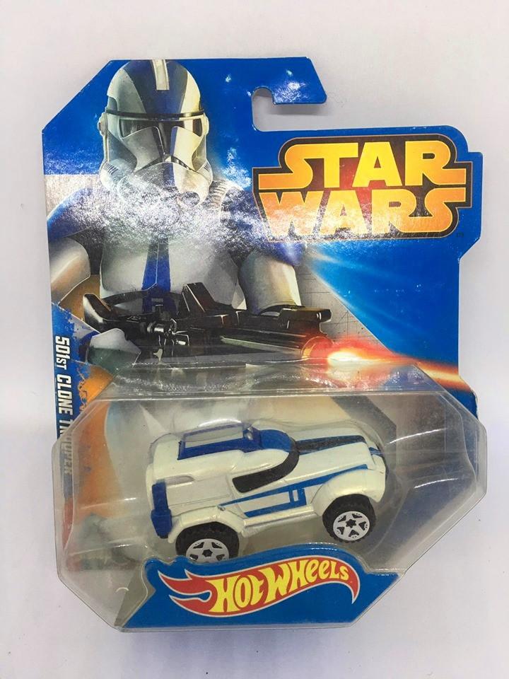 Hot Wheels - 501st Clone Trooper Branco - Star Wars