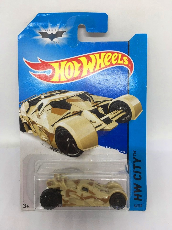 Hot Wheels - The Tumbler - Camouflage Version - Mainline 2014
