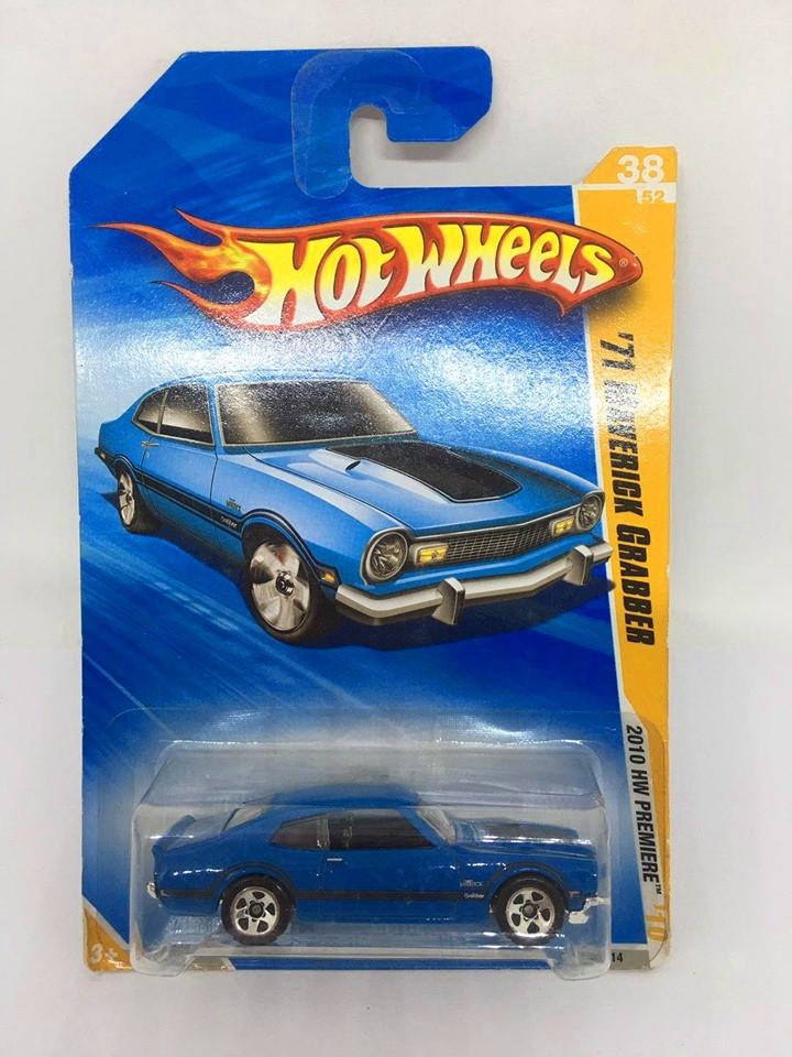 Hot Wheels - 71 Maverick Grabber Azul - Mainline 2010