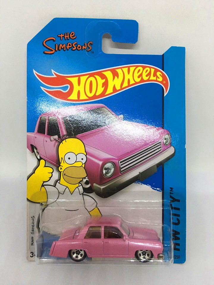Hot Wheels - The Simpsons Family Car - Mainline 2014