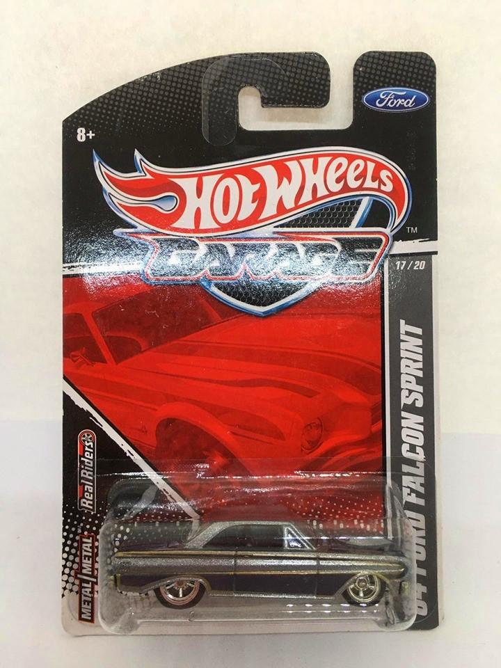Hot Wheels - 64 Ford Falcon Sprint Cinza - Garage