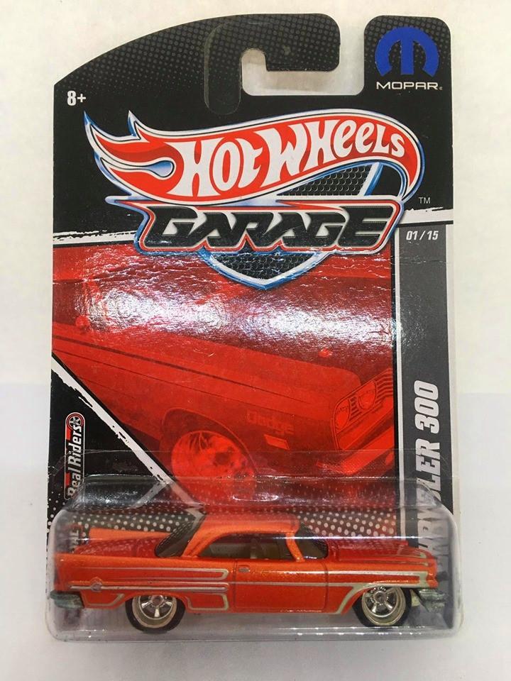 Hot Wheels - 57 Chrysler 300 Vermelho - Garage - Leia Descrição