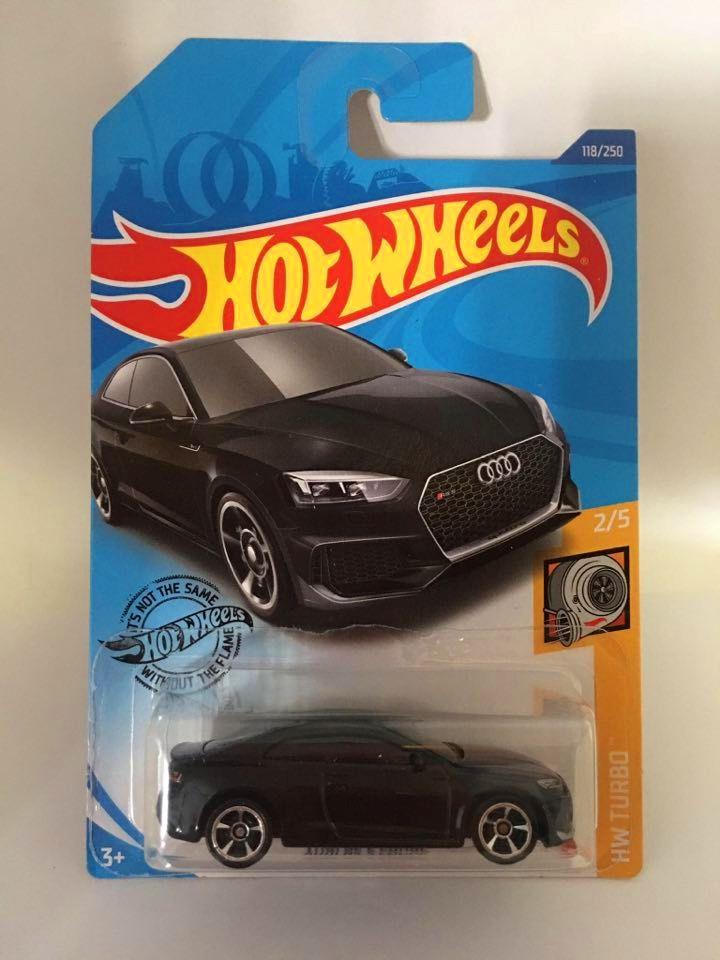 Hot Wheels - Audi Rs 5 Coupe Preto - Mainline 2020