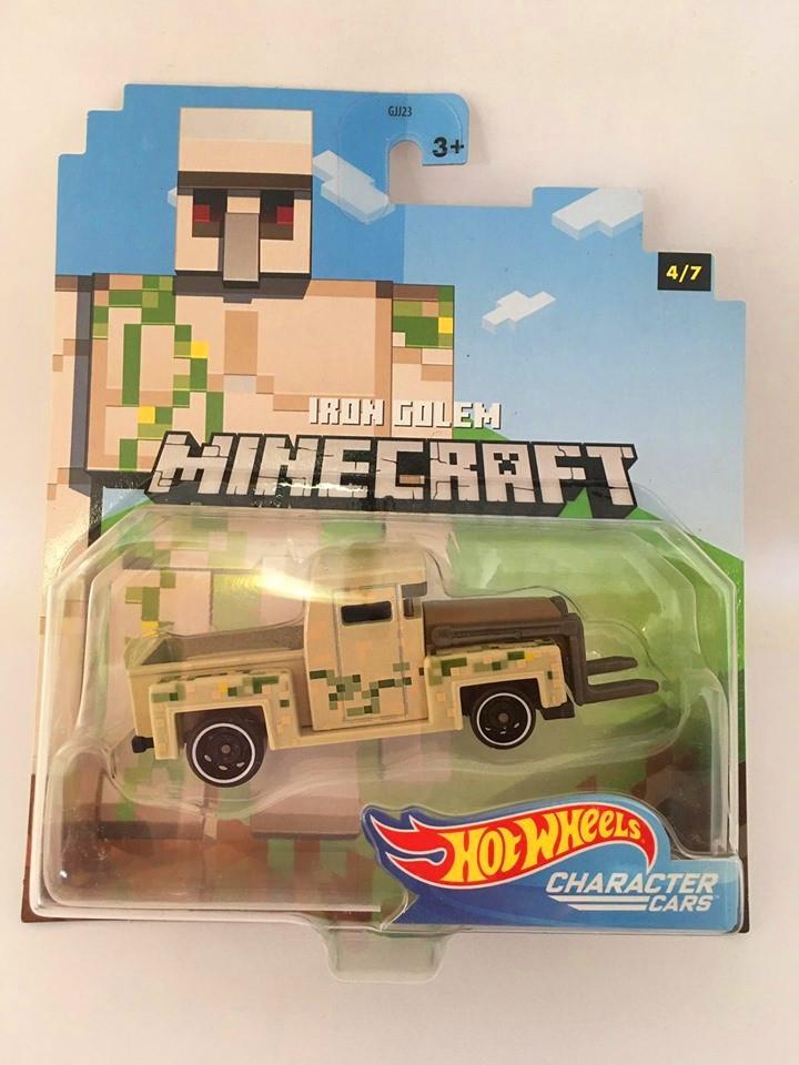 Hot Wheels - Iron Golem - Minecraft - Character Cars