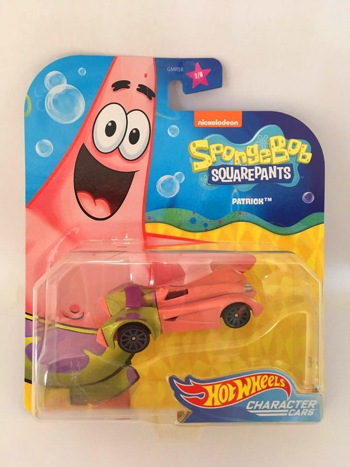 Hot Wheels - Patrick - Spongebob Squarepants - Character Cars