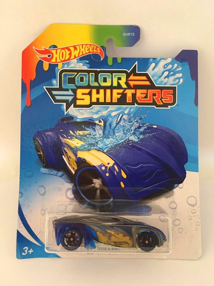 Hot Wheels - El Superfasto Azul - Color Shifters