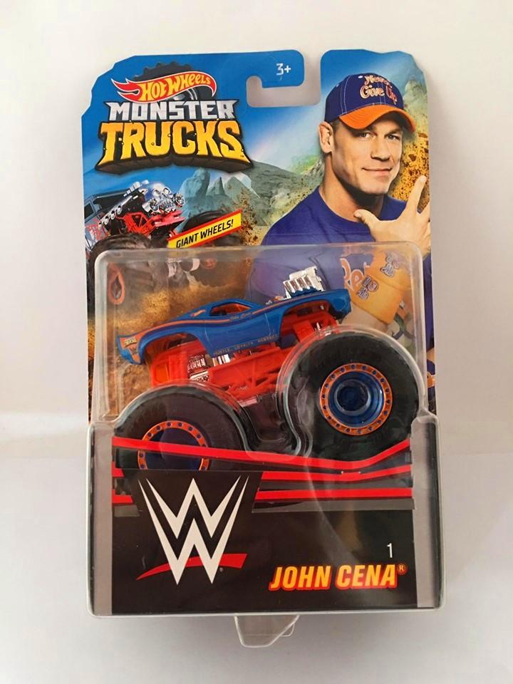 Hot Wheels - John Cena Azul - Giant Wheels - Monster Trucks