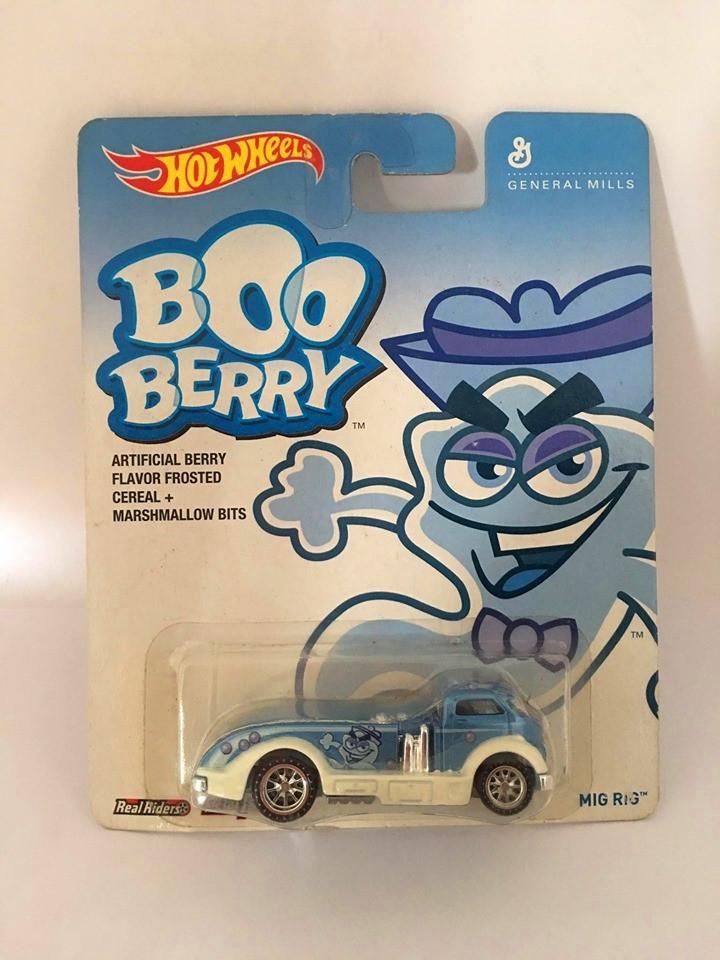 Hot Wheels - Mig Rig Azul - General Mills - Boo Berry