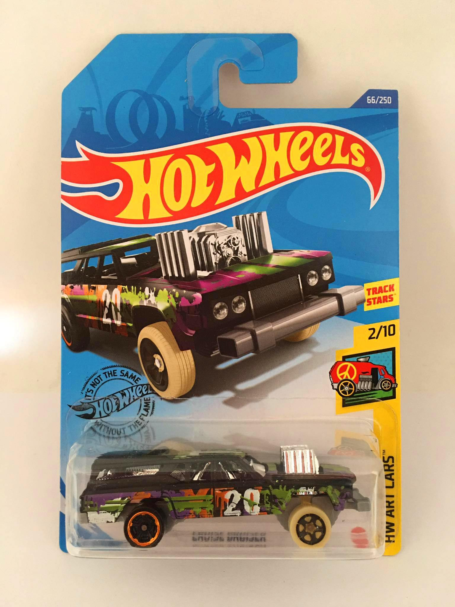 Hot Wheels - Cruise Bruiser Preto - Mainline 2020
