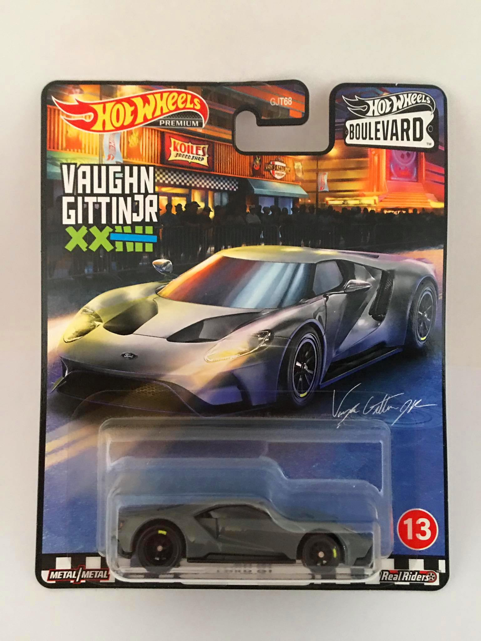 Hot Wheels - Ford Gt Cinza - Boulevard