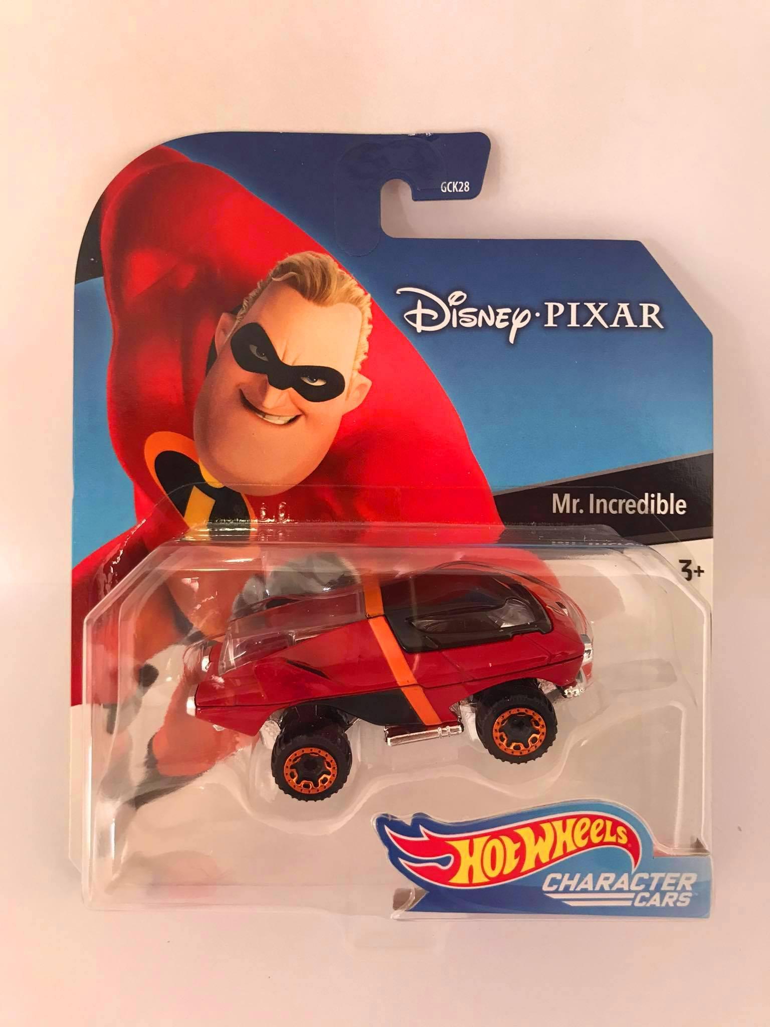 Hot Wheels - MR.Incredible - Disney Pixar - Character Cars