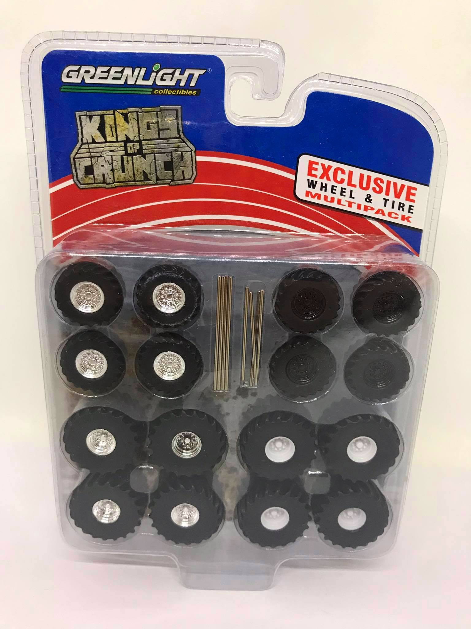 Greenlight - Exclusive Wheel & Tire Multipack - Kings of Crunch