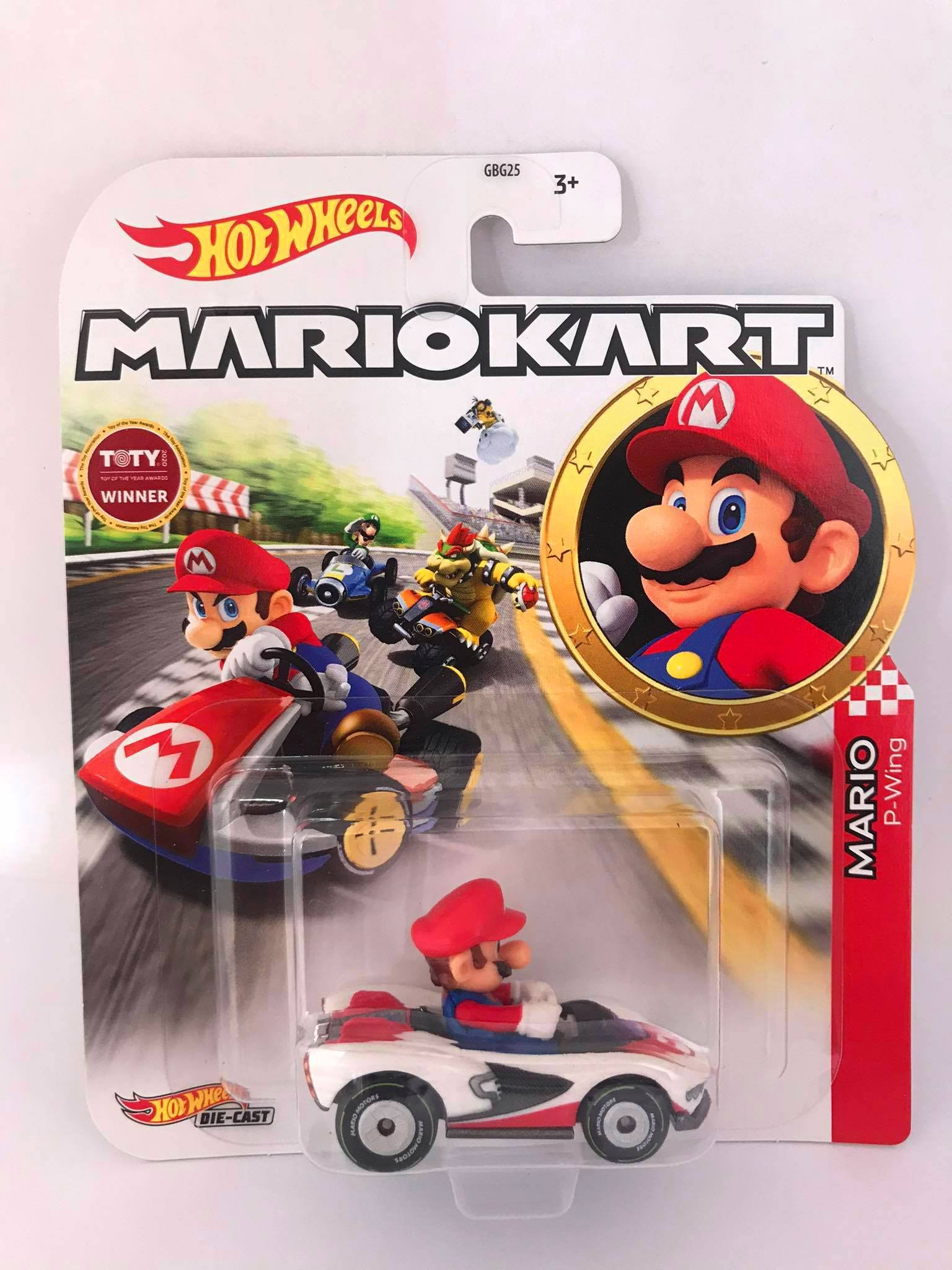 Hot Wheels - Mario - P-Wing - Mario Kart