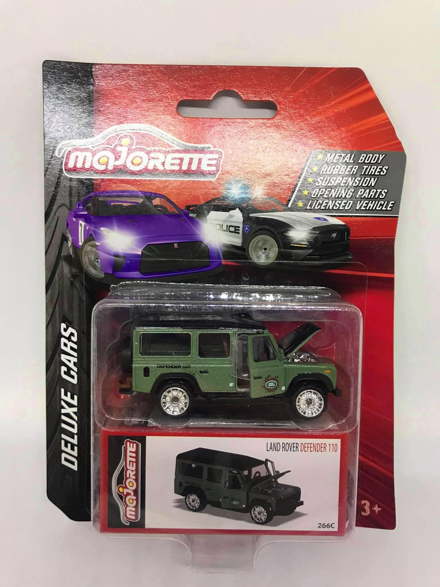 MajoRette - Land Rover Defender 110 Verde - Deluxe Cars