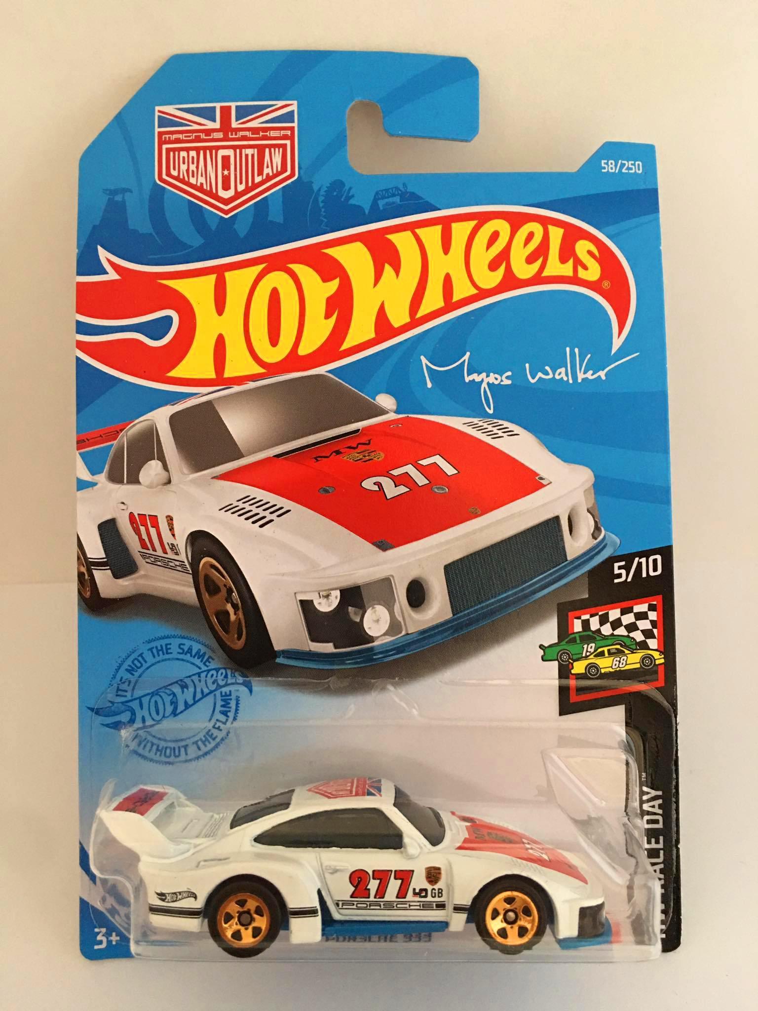 Hot Wheels - Porsche 935 Branco - Mainline 2021
