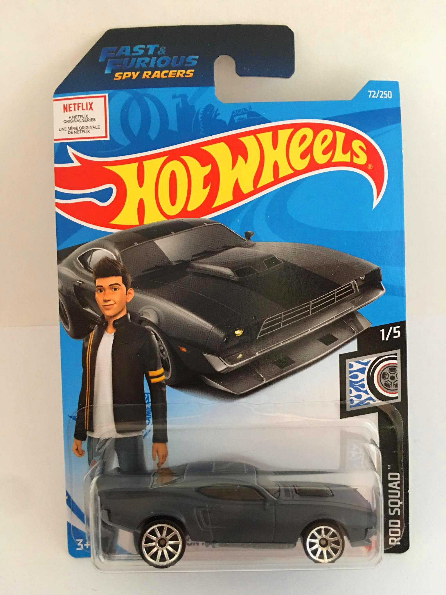 Hot Wheels - Ion Motors Thresher Cinza - Fast and Furious - Mainline 2021