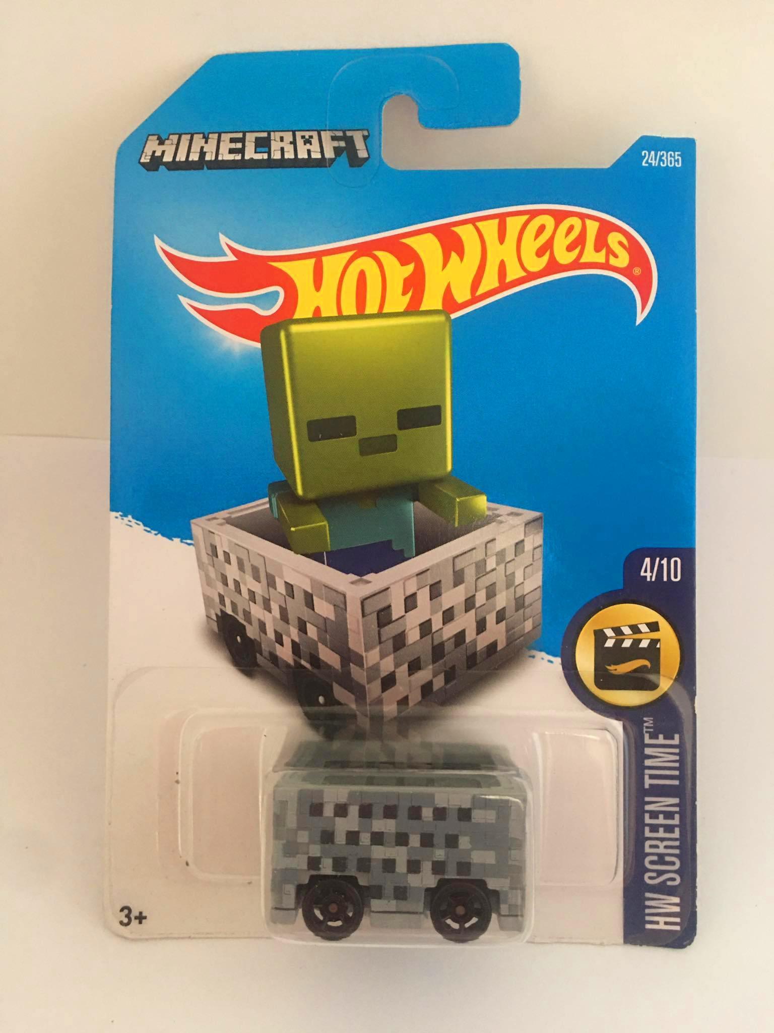 Hot Wheels - Minecart - Mainline 2016