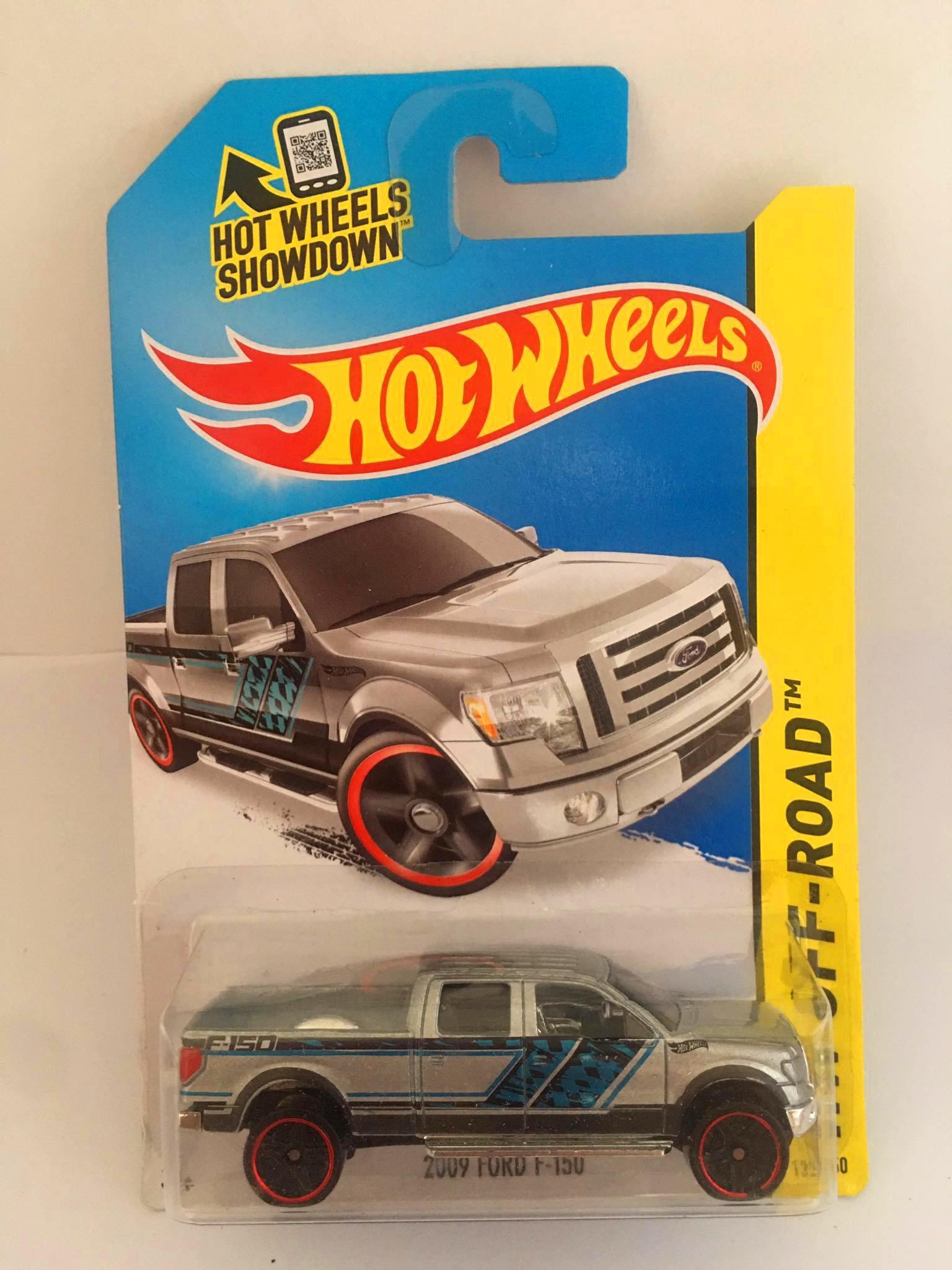 Hot Wheels - 2009 Ford F-150 Cinza - Mainline 2014