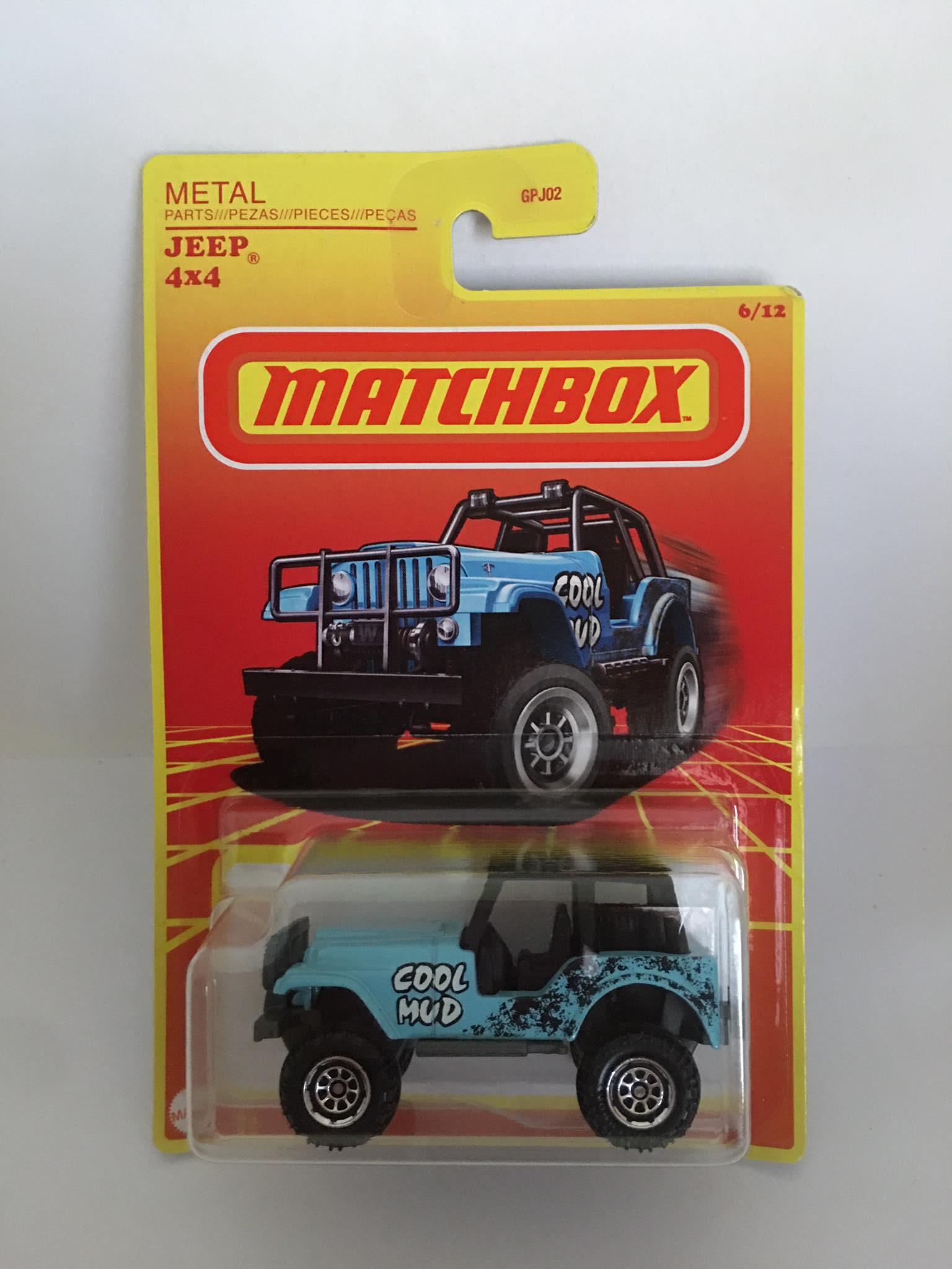 Matchbox - Jeep 4x4 Azul - Retro Series - Exclusivo Target