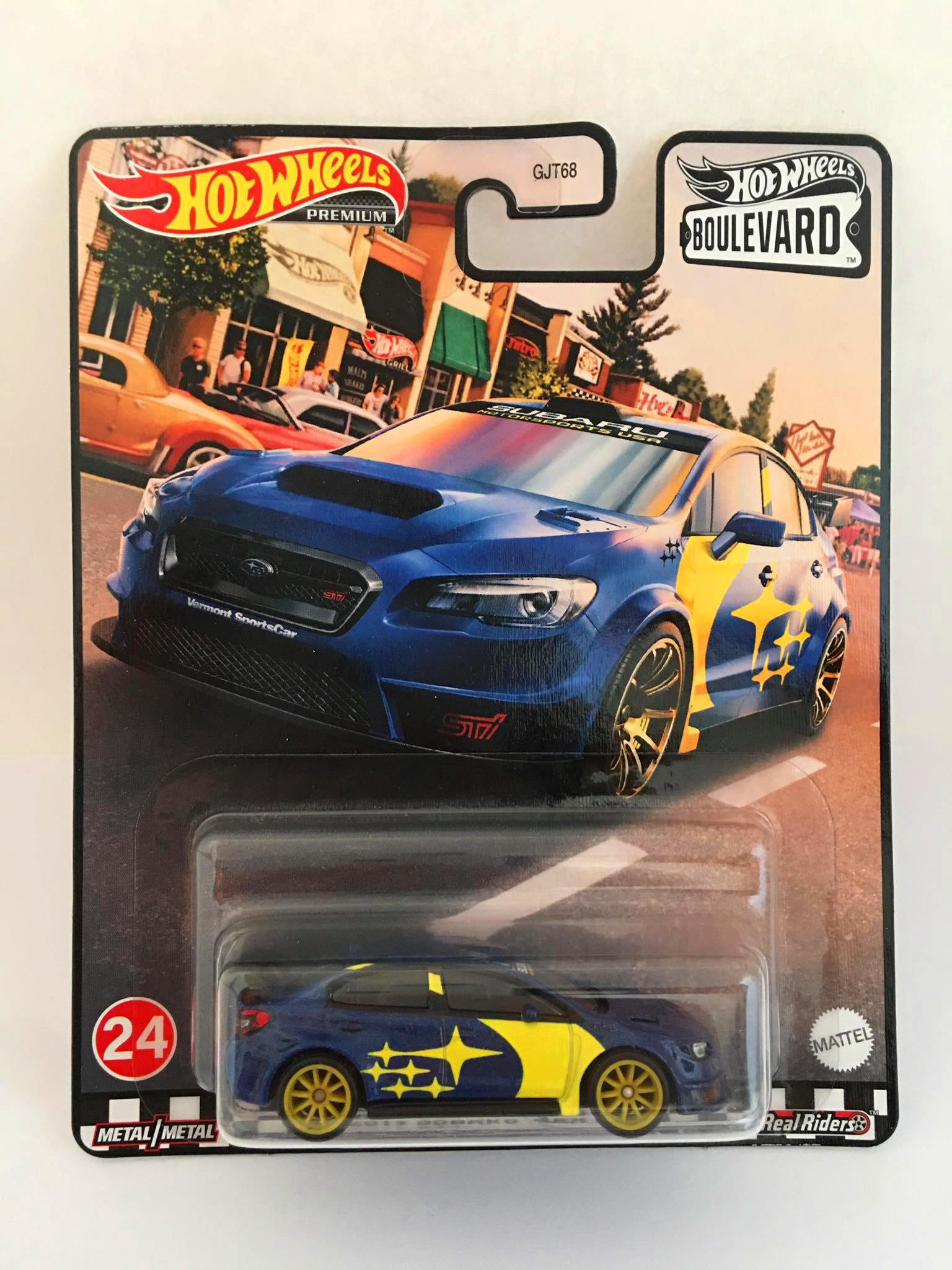 Hot Wheels - 2019 Subaru Wrx Sti Azul - Boulevard