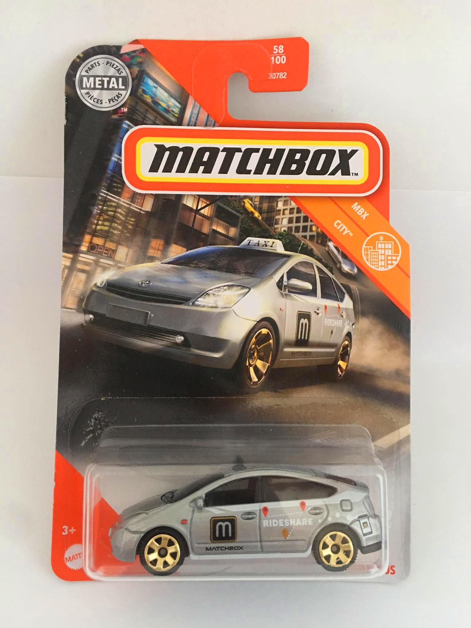 Matchbox - Toyota Prius Cinza - Básico 2020