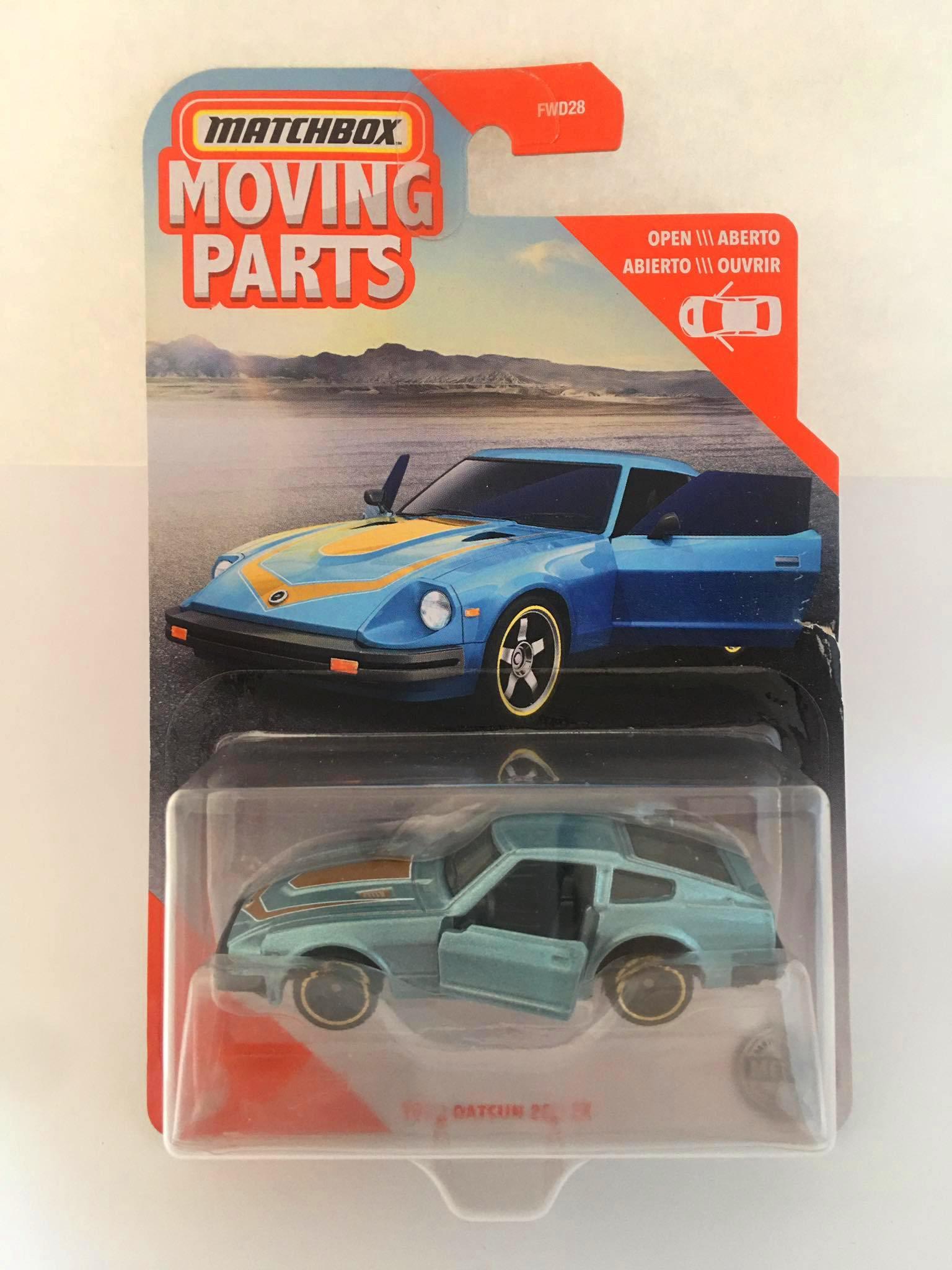 Matchbox - 1982 Datsun 280 ZX Azul - Moving Parts