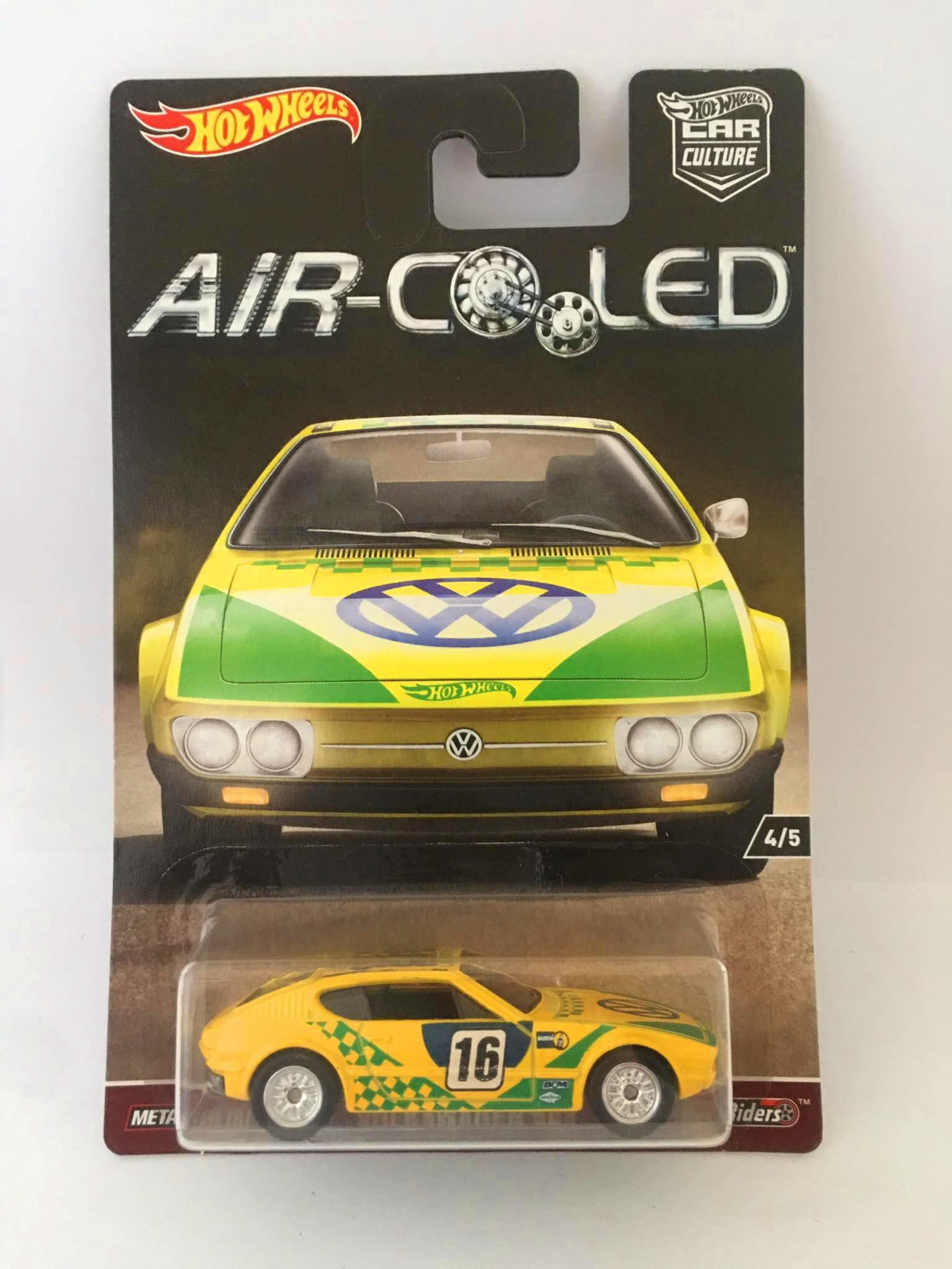 Hot Wheels - Volkswagen SP2 Amarelo - Air Cooled